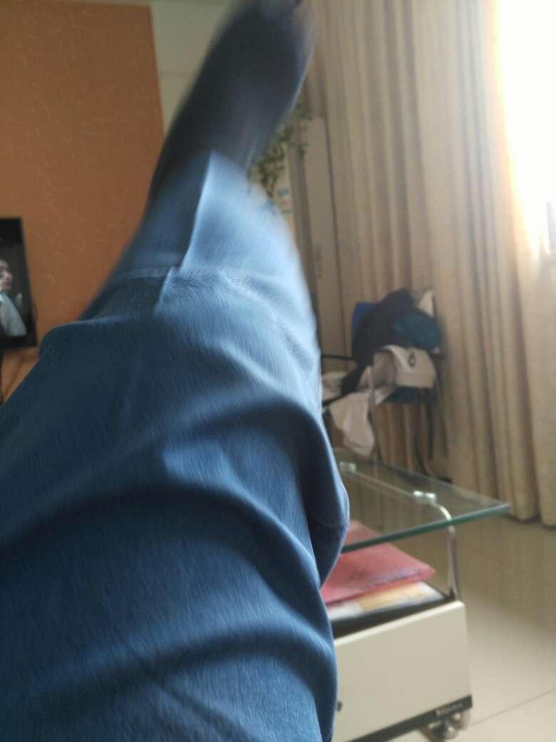 南极人牛仔裤男宽松大码高腰商务春夏薄款中老年长牛仔裤裤深蓝色34(2.7尺)