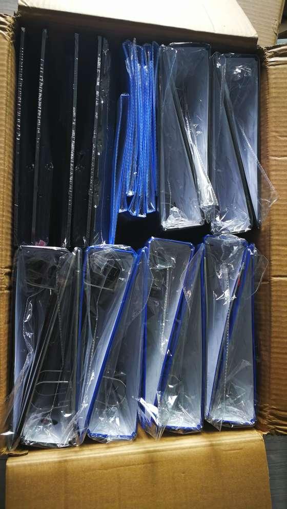 齐心(Comix)100只11孔资料册文件袋替芯袋保护袋搭配孔夹快劳夹使用EA9000