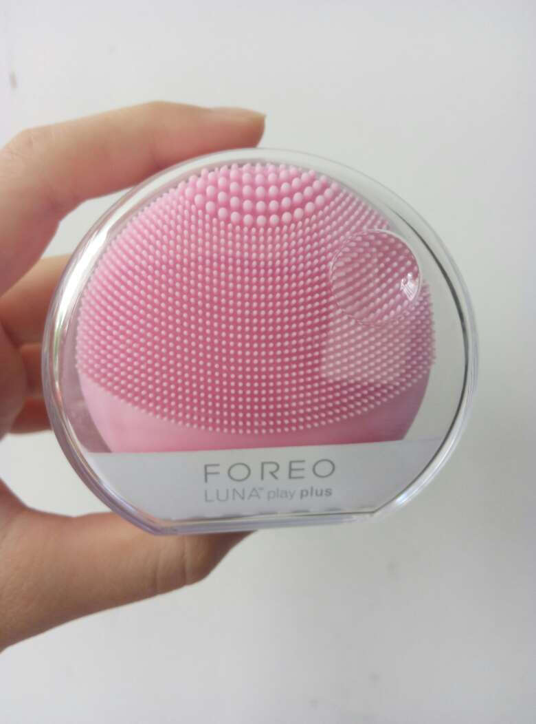 斐珞尔(FOREO)露娜洁面仪luna洗脸仪非充电型电动硅胶黑头清洁playplus粉红色