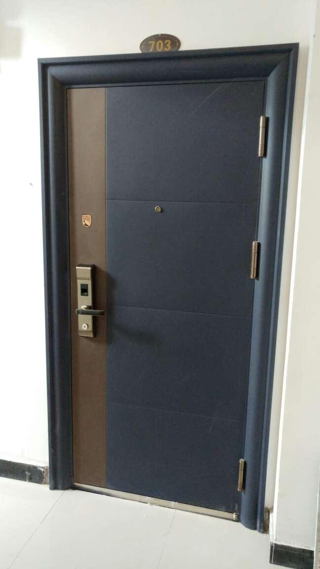 TAOTAO涛涛甲级防盗门安全门进户门入户门智能指纹锁C级锁芯定制单门子母门标准门960*2050MM涛光