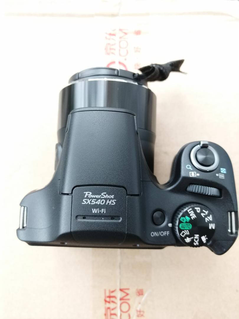 佳能(Canon)PowerShotSX540HS数码相机(2030万像素50倍光学变焦)