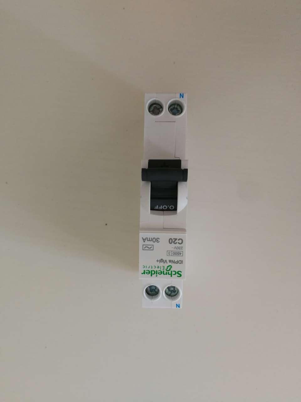 施耐德空开空气开关带漏电保护A9空开IC65NiDPNaVigi+紧凑型剩余电流动作保护25A