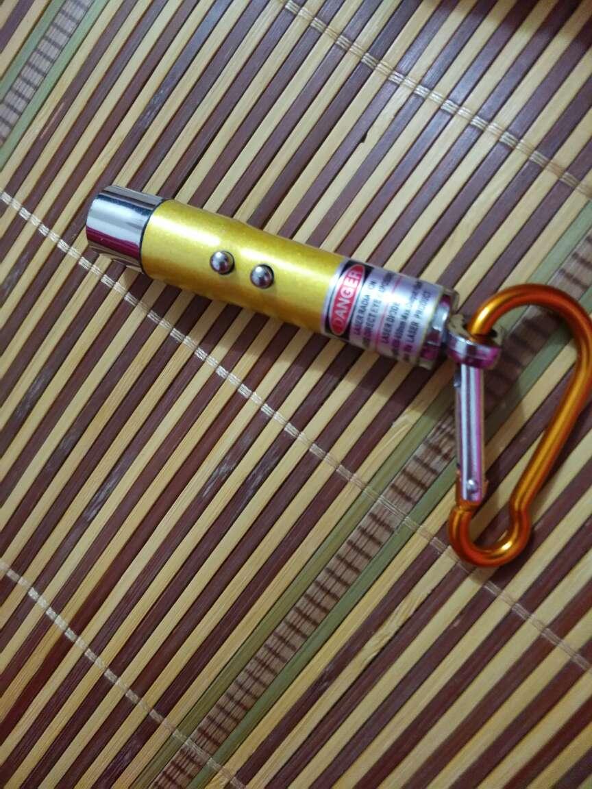 博沃尼克铝合金防溅水5号高亮度便携式礼盒装手电筒蓝色