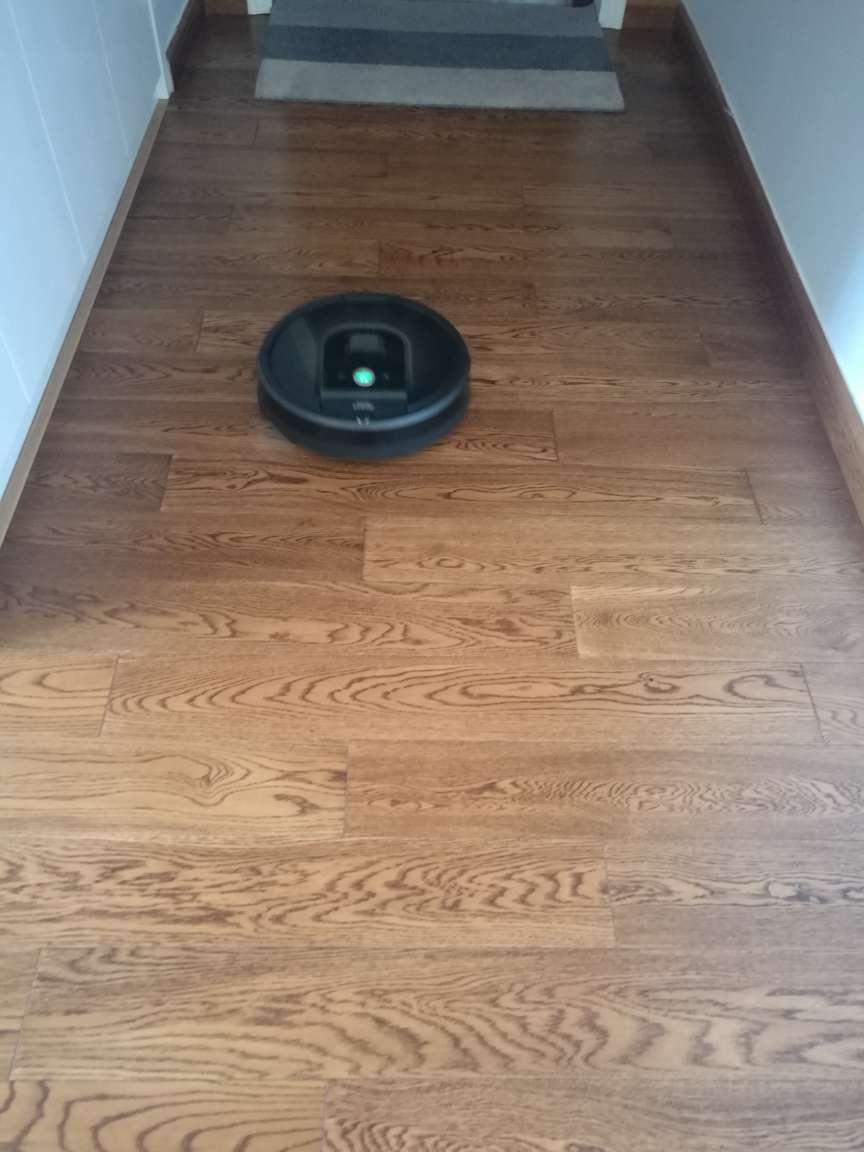 iRobot扫地机器人智能家用全自动扫地吸尘器Roombae5【京品家电】