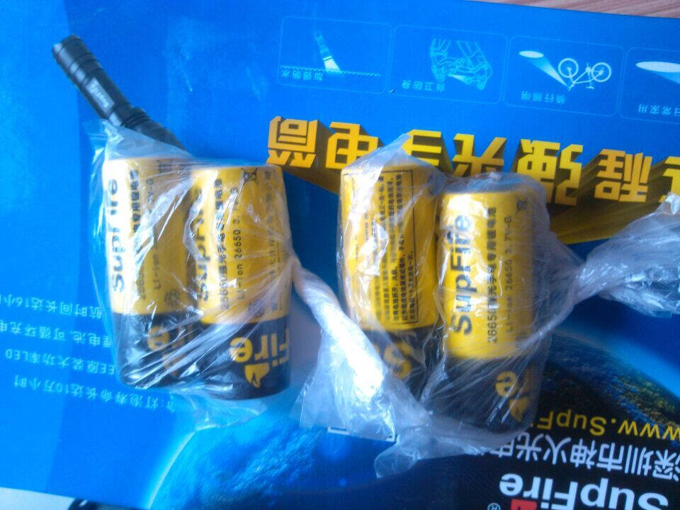 supfire神火S5强光手电筒18650充电迷你直筒防水充电便携小手电筒S5黑色