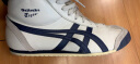 Onitsuka Tiger鬼塚虎中高帮休闲鞋男女MEXICO MID RUNNER DL409 米色 42 实拍图