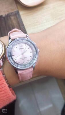 卡西欧石英女士手表好不好?防水好不好?漂亮时尚吗