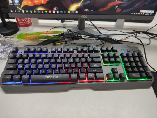 英菲克V680h游戏键鼠套装跟灵蛇MK210铁灰版有何区别,做工哪款好?哪个做工一流