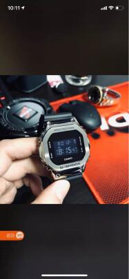 卡西欧GM-5600-1好不好?时间准确吗?做工一流吗?