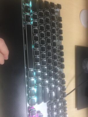 狼蛛F2088 银黑 青轴与黑爵刺客Ⅱ合金机械键盘AK35i哪款更好?做工哪款比较好,哪个倍感舒适