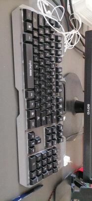 英菲克V680h游戏键鼠套装与灵蛇MK210铁灰版哪款好点?手感哪个更好?哪个十分酷炫?