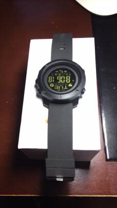 时刻美手表智能运动电子表男士怎么样,做工够不够好?好看大气吗?