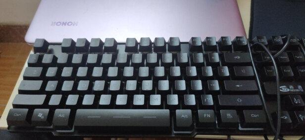 吉选KB860彩虹版 黑和B.O.W HW098A到底有什么区别,按键哪款舒服?哪个质量上乘