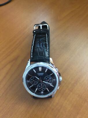 卡西欧男士手表怎么样啊?防水够不够好?大小合适吗?