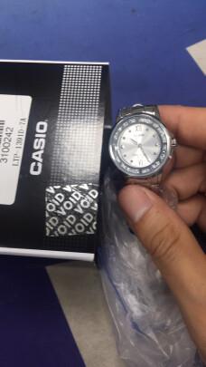 卡西欧石英女士手表好不好,防水够好吗?漂亮时尚吗?
