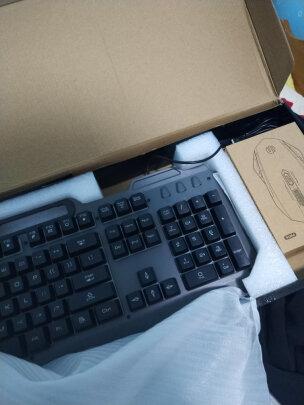 英菲克V680h游戏键鼠套装对比灵蛇MK210铁灰版有区别吗?哪款做工更好,哪个十分酷炫