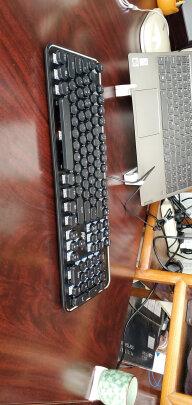 RK 圆点蓝牙机械键盘好不好?做工够好吗?十分酷炫吗