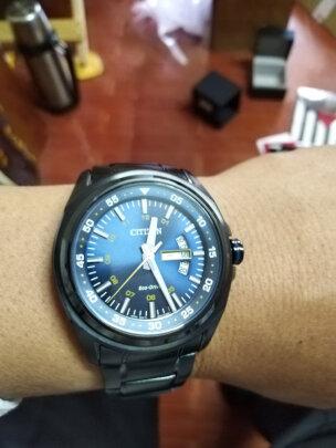 西铁城光动能男表对比卡西欧男士手表区别明显不?哪款防水更加好,哪个大方得体
