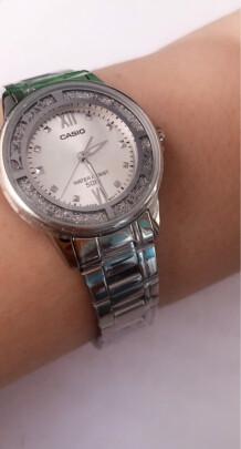 卡西欧石英女士手表到底怎么样?档次够高吗,高端大气吗