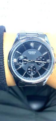 卡西欧男士手表好不好?档次高不高?美感十足吗