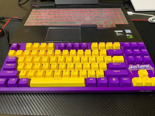 达尔优A87机械键盘靠谱吗?做工好吗?颜值颇高吗?