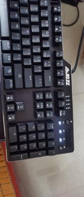 黑爵刺客Ⅱ合金机械键盘AK35i对比达尔优108键混光版哪款更好,哪个做工更好,哪个手感一流
