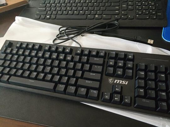 MSI GK50Z 电竞键盘与AJAZZ ak33有什么区别?做工哪款比较好?哪个按键舒服