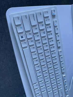 戴尔KB216键盘(白色)对比雷柏X221T有何区别,哪款手感好?哪个运行安静