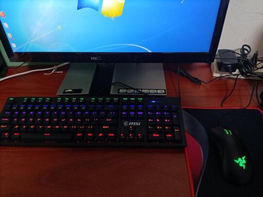 MSI GK50Z 电竞键盘和黑爵守望者Ⅱ 黑色 青轴究竟哪个更好,手感哪个更好?哪个手感一流