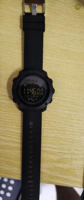 时刻美手表智能运动电子表男士靠谱吗,做工好不好?好看大气吗?
