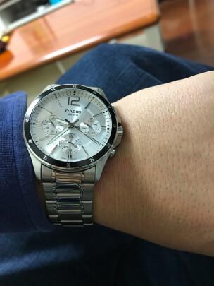 卡西欧男士手表怎么样呀,时间够不够准,漂亮时尚吗