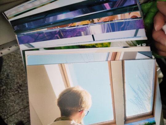 世纪开元乐凯7英寸50张和富士3英寸照片区别大吗,哪个色差更小,哪个颜色鲜艳?