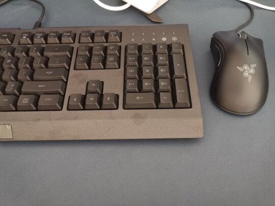 雷蛇萨诺狼蛛专业版游戏键鼠套装跟雷柏V700RGB合金版有明显区别吗?哪款按键更舒服,哪个倍感舒适?