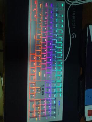 MSI GK50Z 电竞键盘与黑爵ak33究竟区别大不大,哪款按键更加舒服,哪个反应灵敏