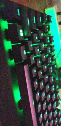 雷蛇黑寡妇蜘蛛 X 竞技版背光款跟CHERRY MX Board 1.0 TKL有哪些区别?按键哪个舒服?哪个按键舒服?