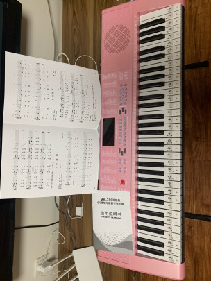 美科-288粉色智能版+琴架和美科MK-975(智能版)区别有吗?手感哪款真实,哪个柔软舒适?