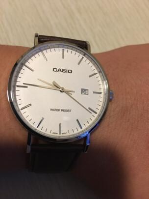 卡西欧手表到底靠谱吗?做工精细吗?简洁大方吗