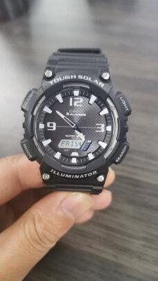卡西欧石英男士手表到底怎么样啊,时间精准吗,防水性强吗