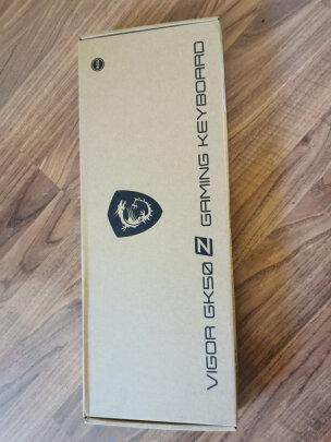 MSI GK50Z 电竞键盘与黑爵ak33究竟哪款好点?按键哪款更舒服,哪个颜值颇高