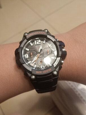卡西欧石英男士手表好不好?档次够高吗?造型酷炫吗