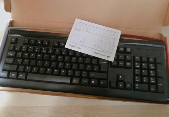 双飞燕KB-8A与联想有线键盘K4800S区别有吗?做工哪款好?哪个手感一流