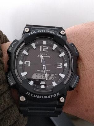 卡西欧石英男士手表好不好?时间精准吗?极致物流吗
