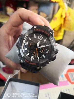 卡西欧石英男士手表究竟怎么样?做工够好吗?防水性强吗?