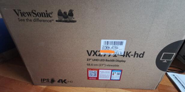 优派VX2771-4K-HD好不好?色彩够好吗?尺寸合适吗