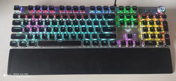 狼蛛F2088 银黑 青轴对比黑爵刺客Ⅱ合金机械键盘AK35i如何区别,哪个手感好?哪个简单方便