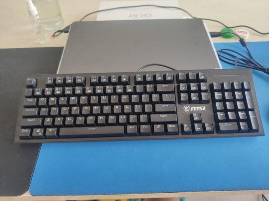 微星GK50Z怎么样?按键舒服吗,反应灵敏吗?