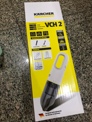 KARCHER VCH 2 白色好不好,吸力强不强,十分小巧吗?