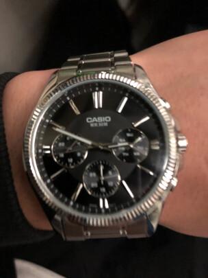 卡西欧男士手表究竟靠谱吗?时间精准吗,做工一流吗