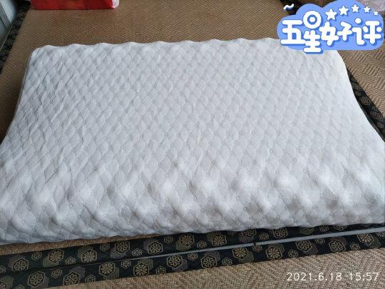 愉悦之家乳胶枕好不好,透气性够好吗,弹性十足吗?