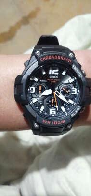 卡西欧石英男士手表怎么样,时间准确吗?个性炫酷吗